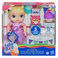 BABY ALIVE - E8719 - PARTY PRESENTS BABY BLONDE HAIR