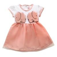 Two Mix Baju Bayi- dress bayi perempuan - Pakaian Baby wanita - 2960