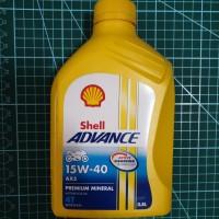 Oli Mesin Sepeda Motor Shell Advance AX5 4T 0.8l