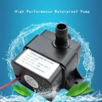 Pompa air celup mini submersible 12V 240L/H DC 12 volt 12v Aquarium