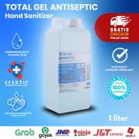 Hand Sanitizer Total Gel Antiseptic 1 Liter (Khusus Gojek Instant)