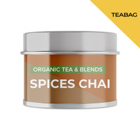 SPICES CHAI   Mini Tin   Cocodeli by Haveltea Organic  Teh Rempah Jahe - 5 Tea Bags