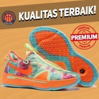 Sepatu Basket Sneakers Nike PG 4 Allstar Gatorade Orange Green Blue