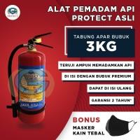PROMO APAR 3KG PROTECT/ PEMADAM KEBAKARAN / TABUNG PEMADAM API 3 KG