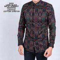 Baju Kemeja Batik Songket Cowok Kemeja Santai Kemeja Casual Remaja