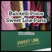 Kain Baloteli balloteli balotelli Polos Premium bahan
