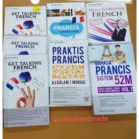 Buku Bahasa Perancis Prancis sistem 52m Keisant Blanc