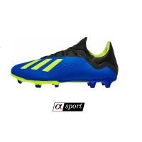 Sepatu Bola Adidas X 18.3 FG - Blue/Solar Yellow/Core Black [ORIGINAL]