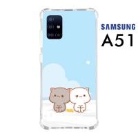 Custom Casing Samsung A51 Softcase Anticrack Motif Kucing Lucu 08