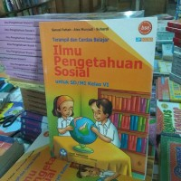 buku ilmu pengetahuan sosial untuk SD kelas 6 penerbit Bse