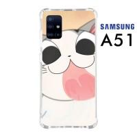 Custom Casing Samsung A51 Softcase Anticrack Motif Kucing Lucu 19