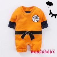 Romper ❈MG-Baby Boy Girl Long Sleeve KungFu Goku One Piece