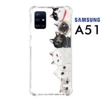 Custom Casing Samsung A51 Softcase Anticrack Motif Kucing Lucu 10