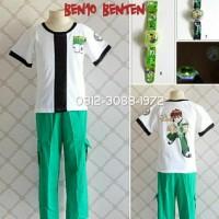 Baju Kostum Anak Karakter Superhero BEN10 BENTEN BEN 10 5-8 Tahun -