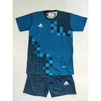 Stelan Futsal Anak Anak/Bahan Drifit/Motif Diprinting/Baju Jersey/Madr