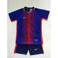 Stelan Futsal Anak Anak/Bahan Drifit//Motif Diprinting/Baju Jersey/Bar