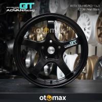 Velg Mobil Advan Racing GT (N1033) Ring 17 H5 Matt Black