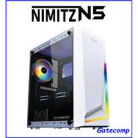 PC Rakitan Gaming AMD Ryzen 5 3500 Radeon Rx 570 4 Gb DDR5