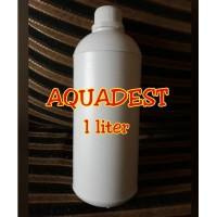 Aquadest / Aquades / Akuades (Aqua Destilata) 1liter