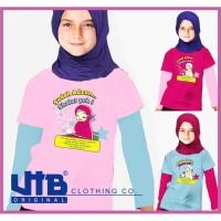 Kaos Muslimah Anak,kaos Anak,Baju Muslim,Kaos Perempuan, soleha