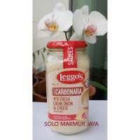 Leggo's leggos Pasta Sauce Carbonara Fresh Cream Onion Cheese 500 g