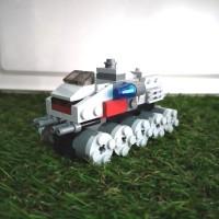 LEGO STAR WARS Microfighters Juggernaut - Loose (tanpa minifig)