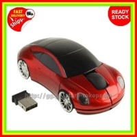 Mouse Car Wireless, Mouse Lucu, Mouse Unik, Mouse Non Finger Karakter