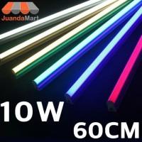 Lampu TL Neon T5 LED 10W 60cm Tube Warna Warni - Biru