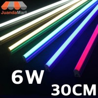 Lampu TL Neon T5 LED 6W 30cm Tube Warna Warni - Putih