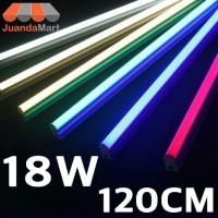 Lampu TL Neon T5 LED 18W 120cm Tube Warna Warni