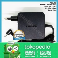 Adaptor Charger Asus TP410 TP410UA TP410UR original 3.42A 4.0mm*1.35mm