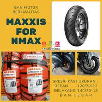 BAN MOTOR NMAX SEPASANG MAXXIS PIRELLI MICHELIN BATTLAX LEBAR TERBARU