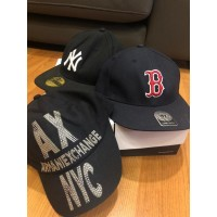'47 and NEW ERA Topi Snapback Pria Wanita NY Boston Armani Exchange