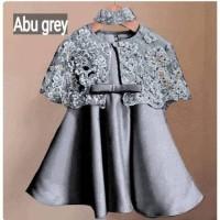 Rx Dress Kelly Brukat baju anak perempuan 3 4 5 tahun