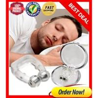 Alat Anti Dengkur / Penghilang Ngorok - Snore Free Magnetic Noseclip