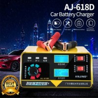 Cas Aki Mobil Smart Charger Accu Car Battery 12V 24V 400AH 260W Power