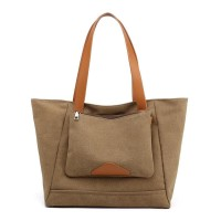 Tas Wanita Premium Bahan Kanvas shoulder bag