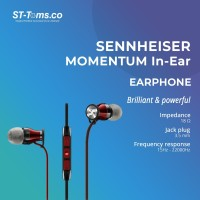 Sennheiser Momentum In Ear I - Black (Apple iPhone Version)