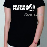 Big Size XXXL Tshirt Preman Pensiun 4. Kaos Preman Pensiun 4. Baju PP4