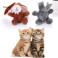 Mainan Boneka Plush Kucing / Kelinci / Tupai Untuk Anjing / Kucin