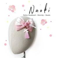 Naoki Imlek-Headband Nylon Bandana Bando Jepit Karet Rambut Anak Bayi
