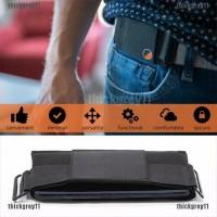 Minimalist Invisible Wallet Unisex Waist Bag Mini Pouch Safe