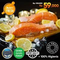 Ikan Salmon Fillet Beku Frozen 200gr Kualitas Premium