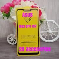 TEMPRED GLASS KACA ASUS MAX PRO M2 ANTIGORES SCREEN PROTEKTOR LCD