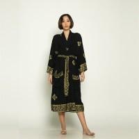 Black Kimono Prada Dress