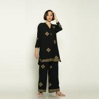 Black Shirt & Pants Prada Set - L-XL