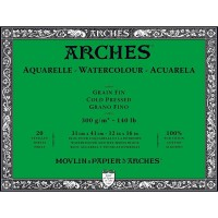 ARCHES COLD PRESSED PAPER 300 GSM 31x41 CM (LEMBARAN/SHEET)