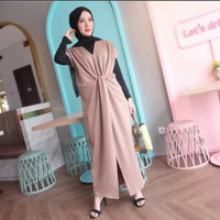 Kaftan Long Kaftan Dress Wanita Baju Muslim Gamis