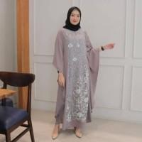 Baju Gamis Wanita bahan katun remi + tile