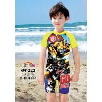 Baju Renang Anak TRANSFORMER SWIMWEAR SW269